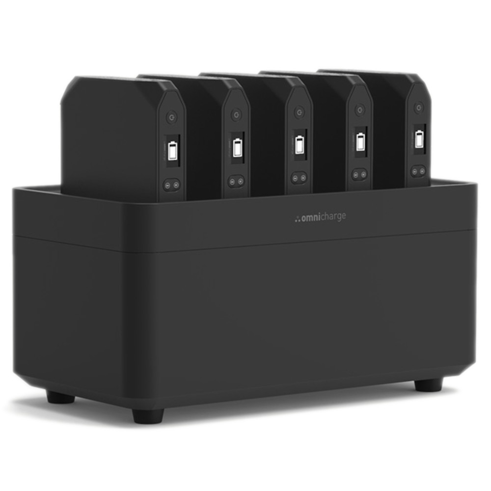 Omnicharge Power Station with 5 x Omni 20+ units